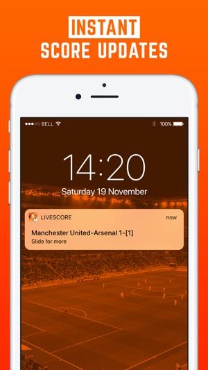 LiveScore: Live Ergebnisse Screenshot