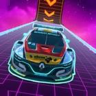 Extreme Neon GT Car Stunts