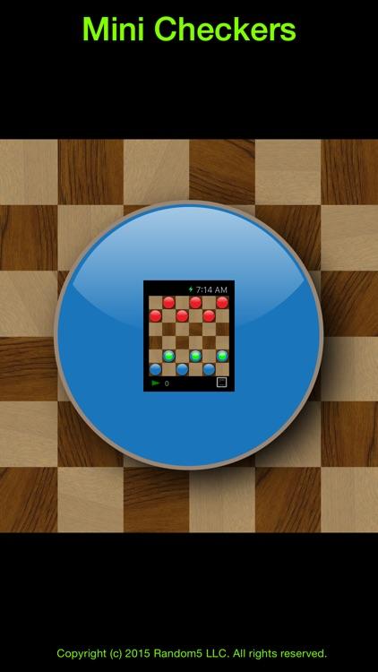 Mini Checkers