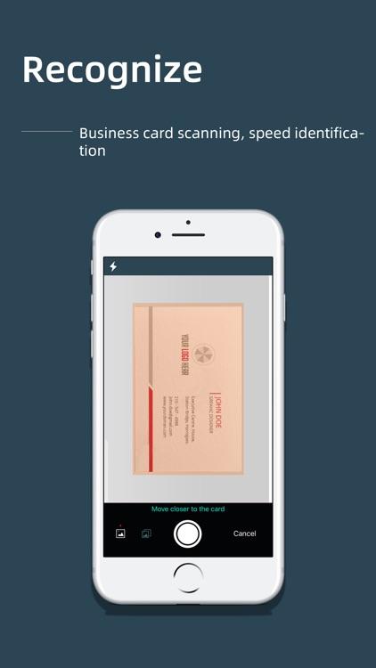 FoxCard -Business card scanner screenshot-4