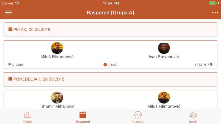 Teniske lige Srbije screenshot-5