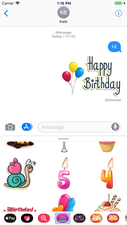 Happy Birthdays Celebration IM