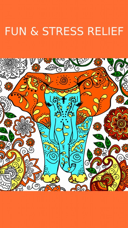 Animal Coloring Book Games screenshot-2