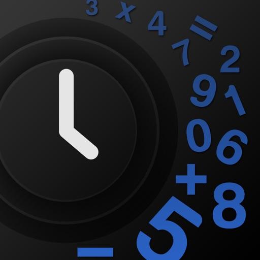 Mathe Alarm Clock - Black