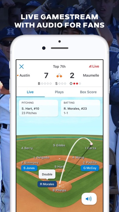 GameChanger Baseball Softball Скриншоты9