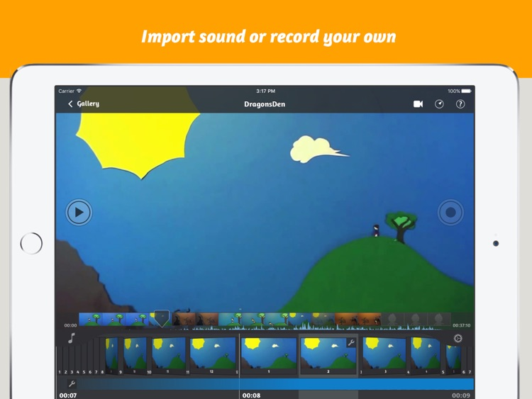 iStopMotion for iPad screenshot-3