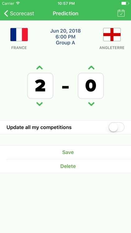 Scorecast Lite screenshot-3