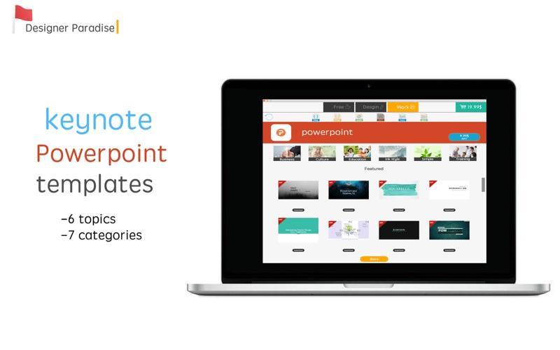 Designers ParadiseTemplates Screenshot
