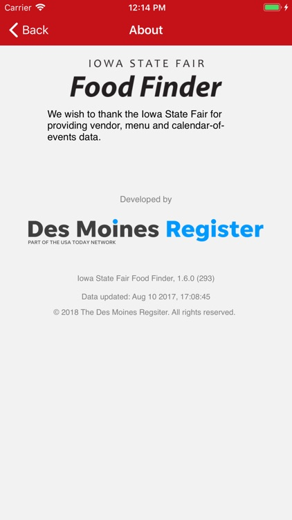 Iowa State Fair Food Finder screenshot-4