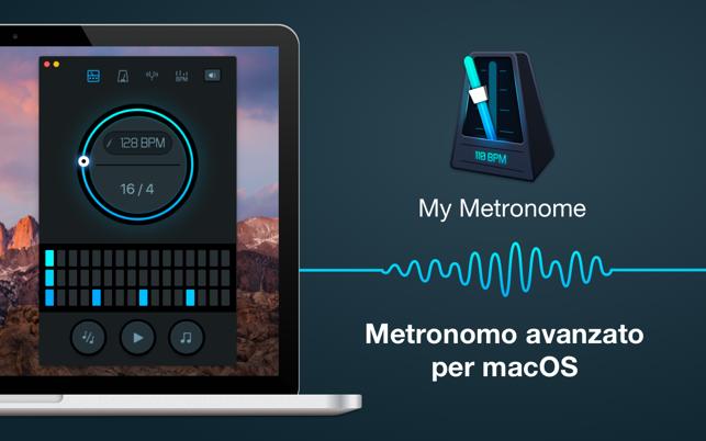 metronomo per mac