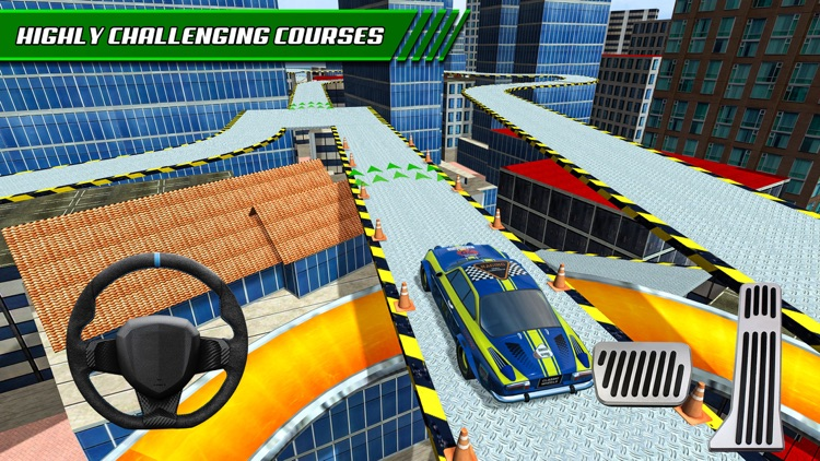 Roof Jumping: Stunt Driver Sim screenshot-2