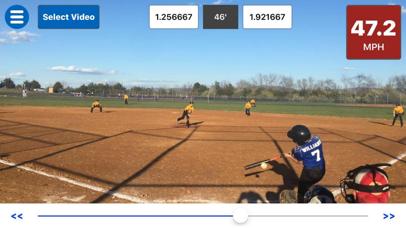Baseball Radar Gun + screenshot 1