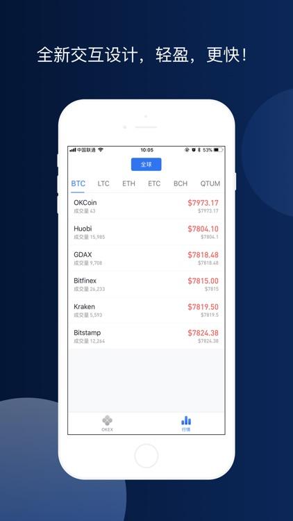 OKEx-比特币以太坊行情 screenshot-3