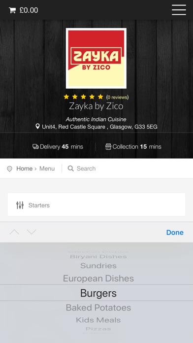 Zayka By Zico Glasgow screenshot three