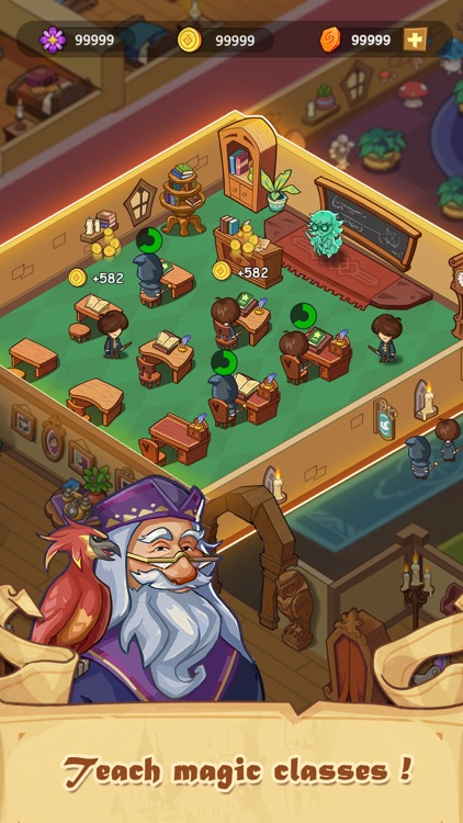 Idle Magic Academy screenshot-4