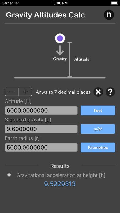 点击获取Gravity Altitudes Calculator