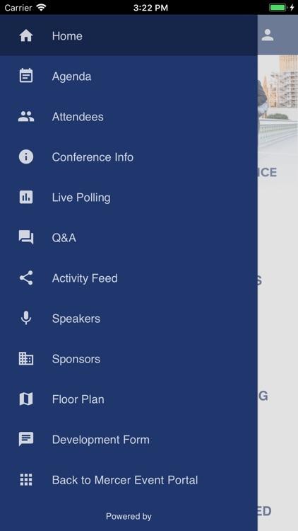 Mercer Event Portal screenshot-3