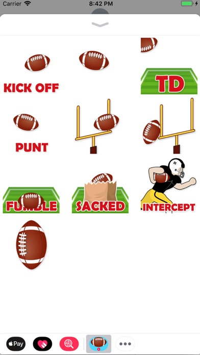 Animated Football Stickers Screenshot 1