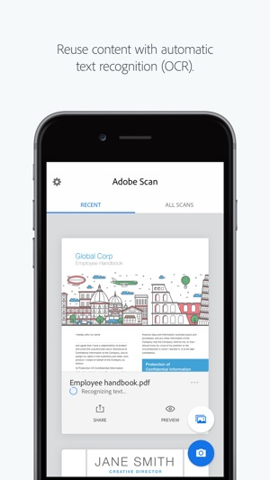 Adobe scan on the app store adobe scan on the app store reheart Images