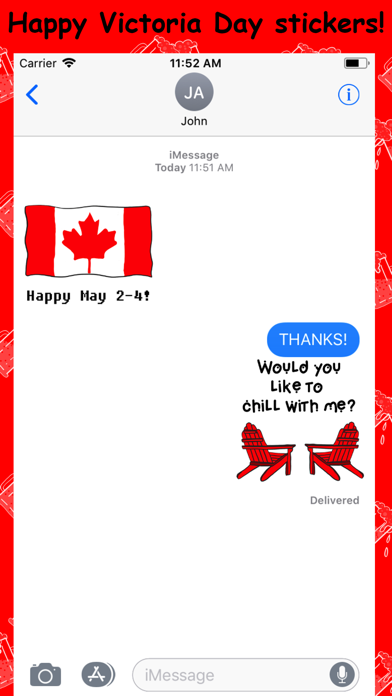 Happy Victoria Day screenshot four