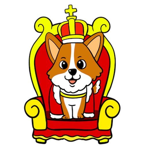 Royal Corgis Emoji Stickers