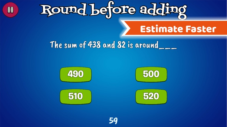 Math Rescue Games For Rounding
