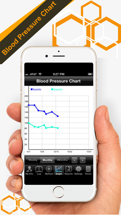 Blood Pressure Tracker review screenshots