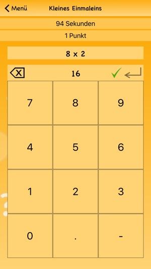Kleines Einmaleins Spiel Im App Store