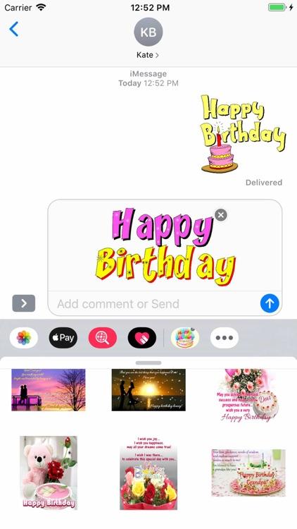Happy Birthday GIF screenshot-6