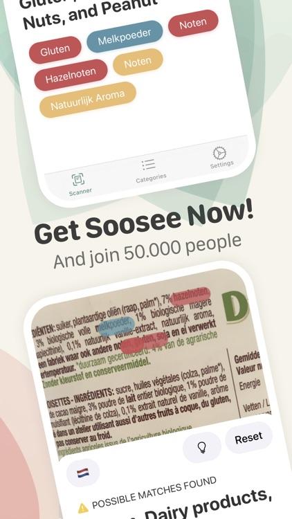 Soosee - Allergy & Vegan Scan screenshot-7