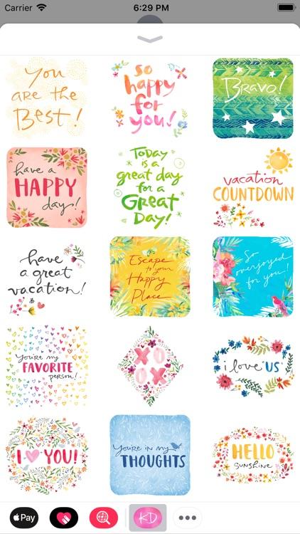 Kathy Davis Stickers screenshot-3
