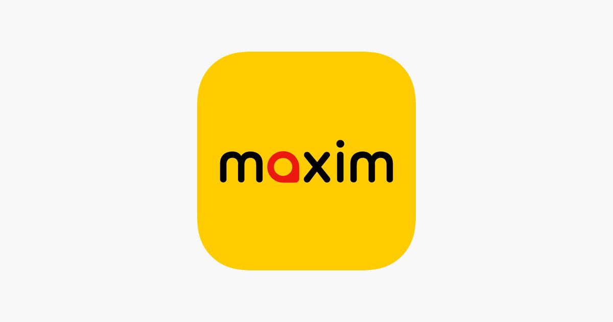 Maxim Transportasi Delivery Di App Store