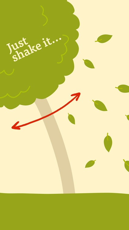 Shake the Tree! Picture Book