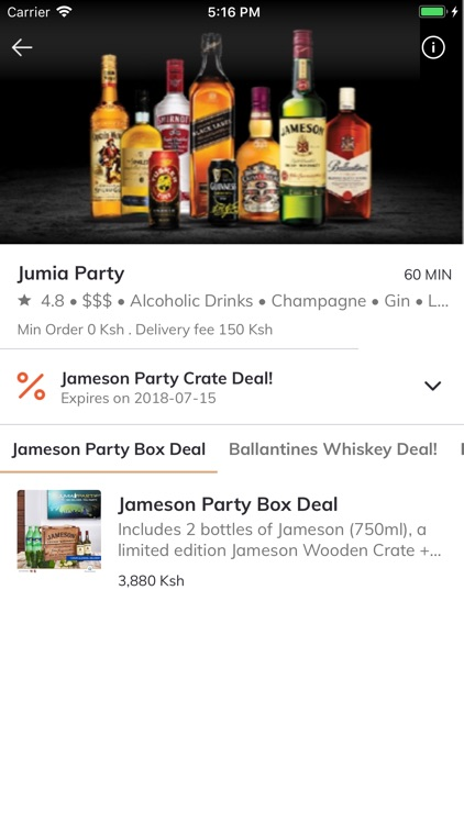 Jumia Party - Spirits & Beers screenshot-3