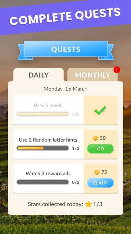 Wordsgram - Word Search Game screenshot-6