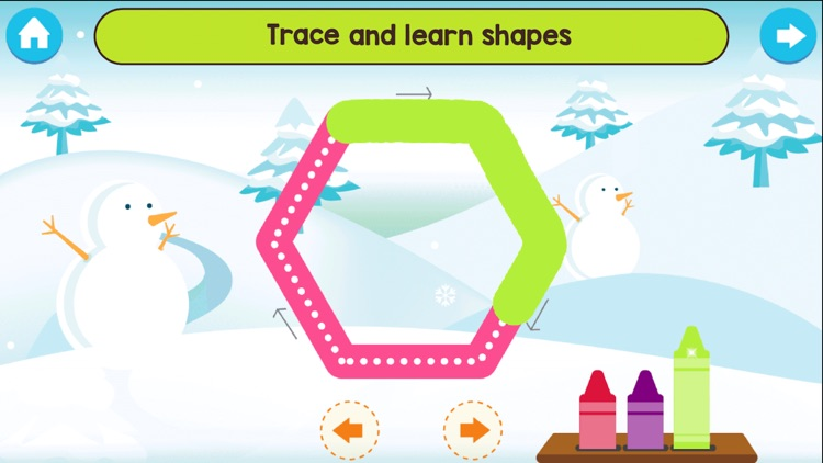 Shapes and colors learn games screenshot-5
