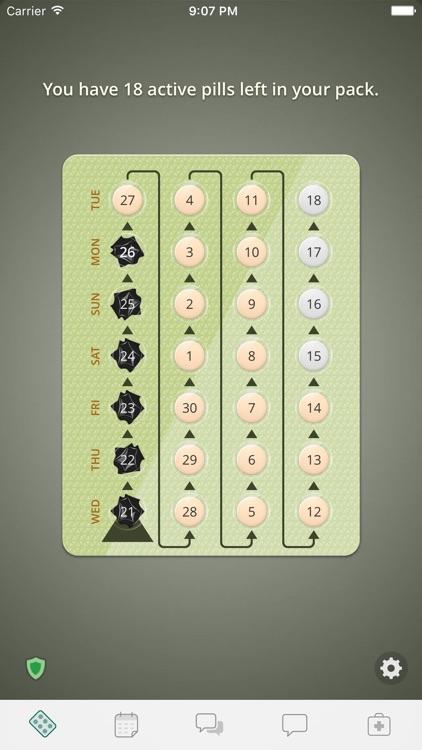 Birth Control Reminder myPill® screenshot-0