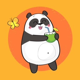 Fun Panda Stickers