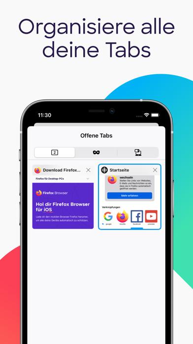 Firefox: sicher unterwegsScreenshot von 10