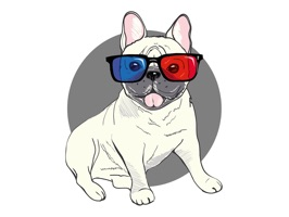Use this adorable Frenchie - French Bulldog - Emoji Stickers to show how much you love your Frenchie
