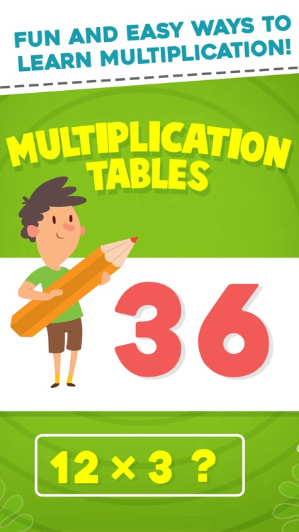 Multiplication Tables Learning By Bhadrik Mehta