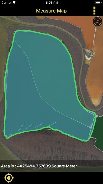 Distance & Area Measure On Map screenshot-8