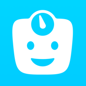 Happy Scale: Weight Loss Tracker, Predictions, Trend Chart, Fat Loss Coach, Diet Diary & Graph icon