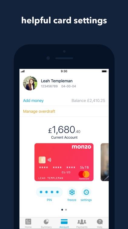 Monzo Bank screenshot-4
