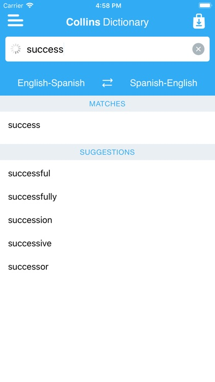 Collins Spanish Dictionary screenshot-4
