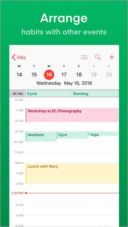 Nirow: Habits & Goals Tracker screenshot-3