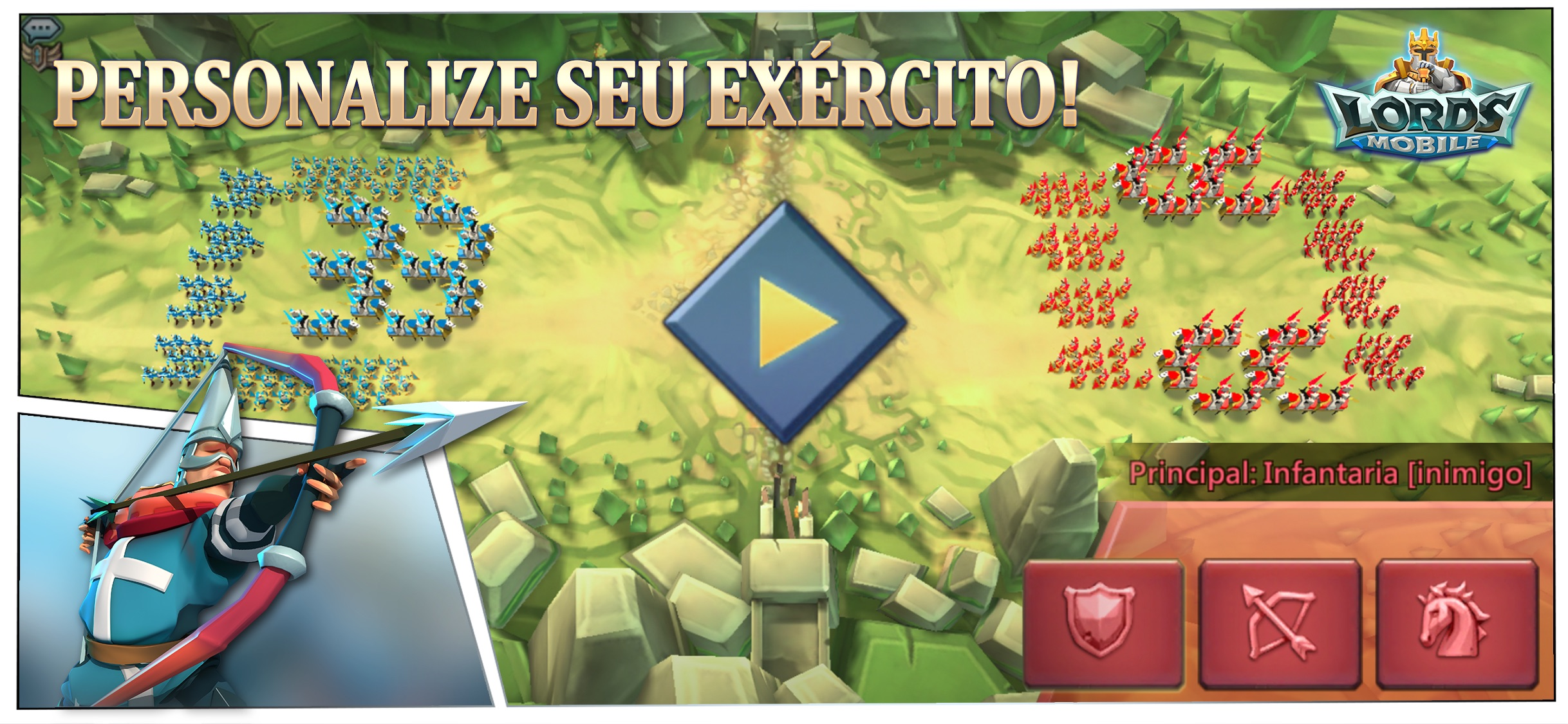 Screenshot do app Lords Mobile: Tower Defense