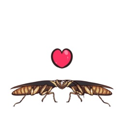 Funny Cockroach Stickers