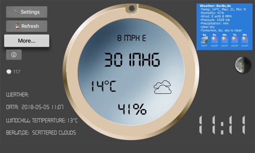 LCD Weather Barometer
