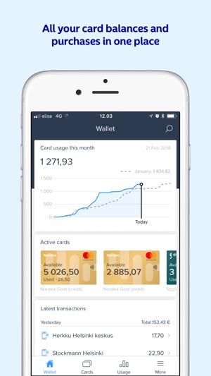 nordea budget app